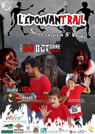 Affiche EPOUVANTRAIL 2021 - 30 October