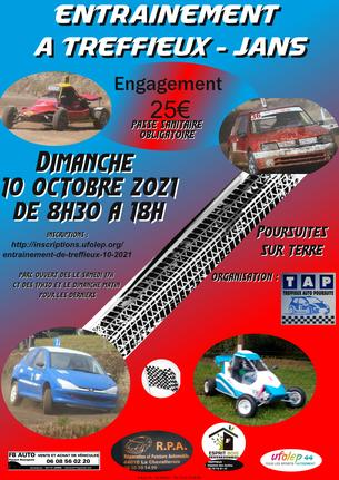 Affiche Entrainement Treffieux-Jans - 10 October