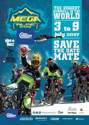 Affiche MEGAVALANCHE France - 3/9 July 2017