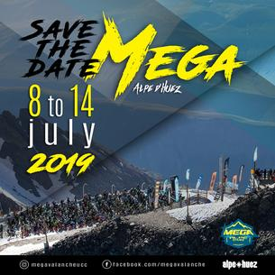 Affiche MEGAVALANCHE France - 8/14 July 2019