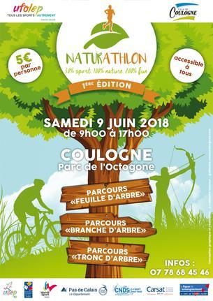 Affiche NATURATHLON - 9 June 2018