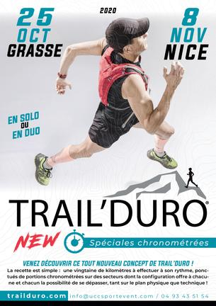 Affiche Trail'Duro Nice - 8 November 2020