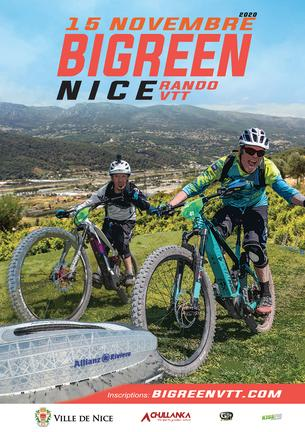 Affiche Bigreen Nice - 15 November 2020