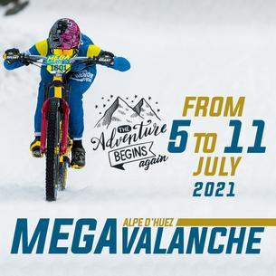 Affiche MEGAVALANCHE France - 5/11 July