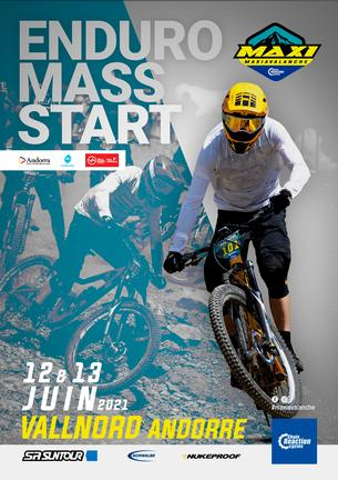 Affiche MAXIAVALANCHE Andorre - 11/13 June