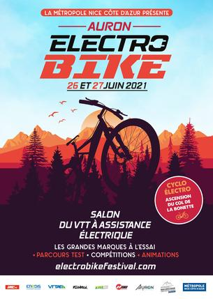 Affiche Electro Bike Auron - 26/27 June