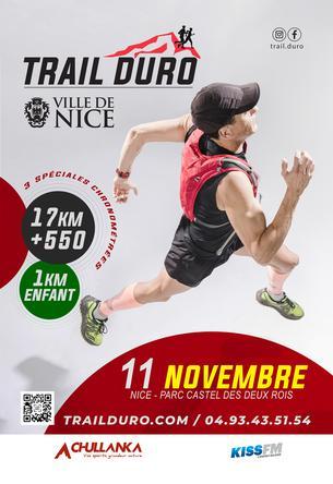 Affiche TRAILDURO Nice - 11 November