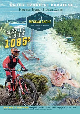 Affiche MEGAVALANCHE REUNION ISLAND TRIP PACKAGE - 27 November/6 December