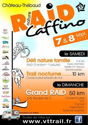 Affiche RAID NATURE CAFFINO 2019 - 7/8 September 2019