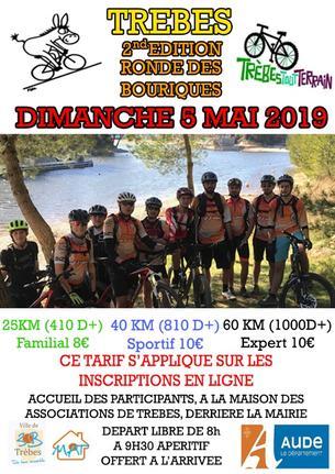 Affiche La Ronde des Bourriques - 5 May 2019