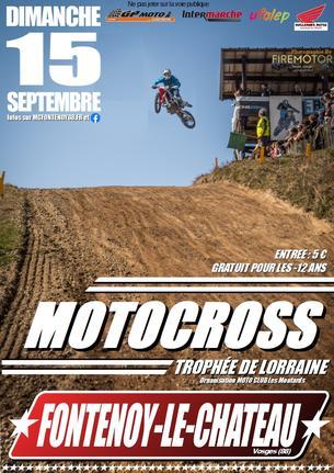 Affiche Course Ufolep Fontenoy le chateau 15 septembre - 15 September 2019