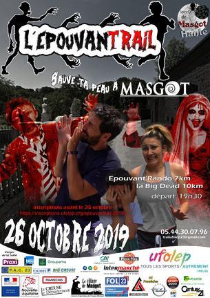 Affiche EPOUVANTRAIL - 26 October 2019
