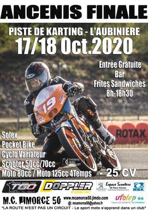 Affiche Finale TGO 17/18 Octobre - 17/18 October 2020