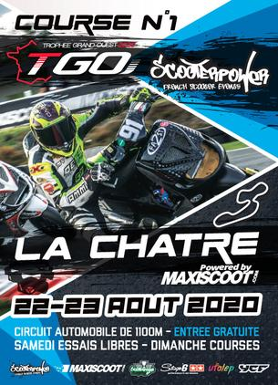 Affiche Trophée Grand Ouest La Chatre - 23 August