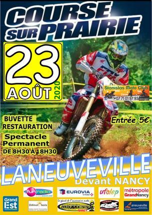 Affiche Trophée Alsace Lorraine de course sur prairie - 23 August