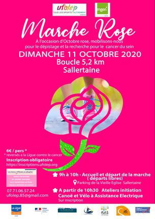 Affiche MARCHE ROSE - 11 October