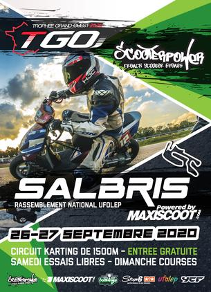 Affiche Trophée Grand Ouest Salbris - 26/27 September 2020