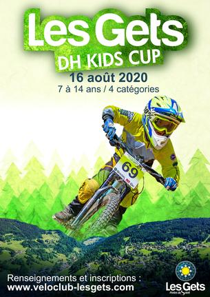 Affiche DH Kids Cup 2020 - 16 August