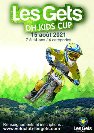 Affiche DH Kids Cup - 15 August