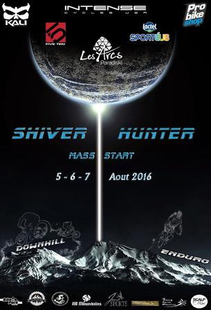 Affiche SHIVER HUNTER - 5/7 August 2016