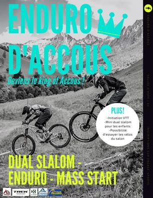 Affiche Enduro d'Accous 2020 - 22/23 August 2020