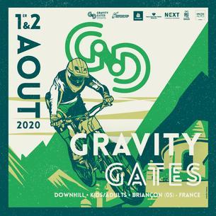 Affiche Gravity Gates 2020 - 1/2 August