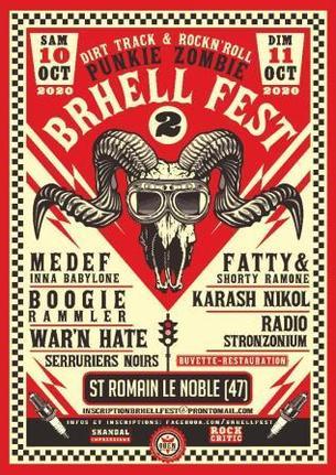 Affiche Brhell Fest #2 - 10/11 October