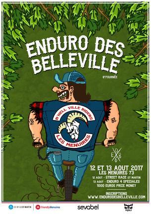 Affiche Enduro des Belleville - 12/13 August 2017