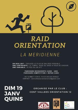 Affiche La Méridienne 2020 - 19 January