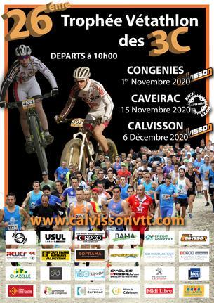 Affiche Trophée Vétathlon des 3C - 2020 - 1 November/6 December 2020