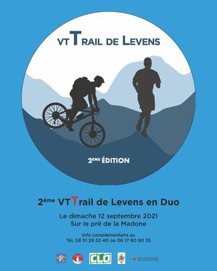 Affiche VtTrail de Levens 2nd Edition - 12 September