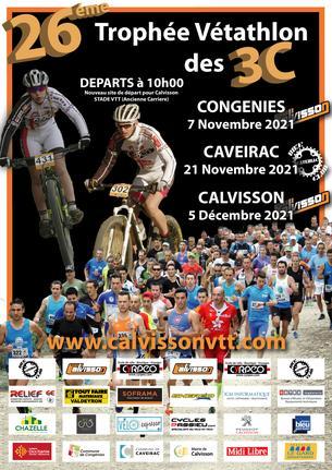 Affiche Trophée Vétathlon des 3C - 2021 - 7 November/5 December