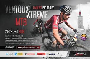 Affiche VENTOUX XTREME MTB 2018 - 21/22 April 2018