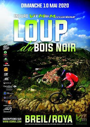 Affiche Enduro du Loup du Bois Noir VTT Breil - 10 May