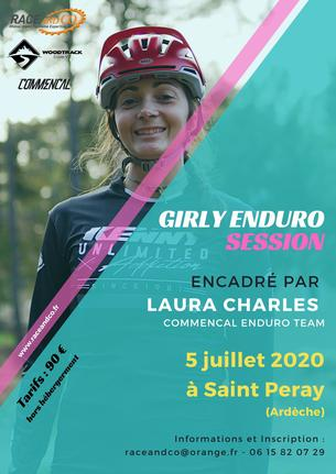 Affiche Girly Enduro Session By Laura CHARLES - 5 July 2020