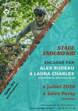 Affiche Stage Enduro Kid - 4 July