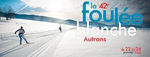 Affiche 42ème Foulée Blanche - 22/26 January