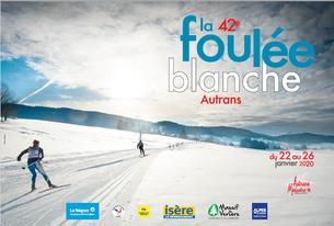 Affiche Inscription des bénévoles - Foulée Blanche 2020 - 22/26 January