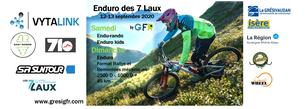 Affiche Enduro des Sept Laux 2020 - 12/13 September