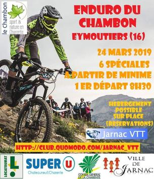 Affiche Enduro du Chambon - 24 March 2019