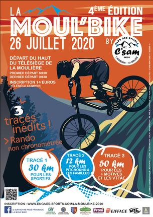 Affiche La Moul'bike 2020 - 26 July
