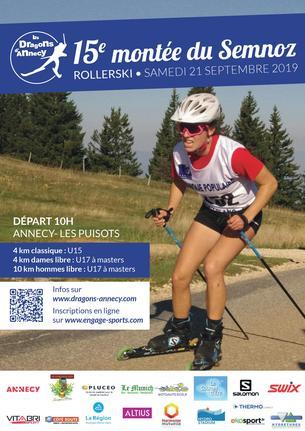 Affiche 15ème montée du Semnoz - 21 September 2019