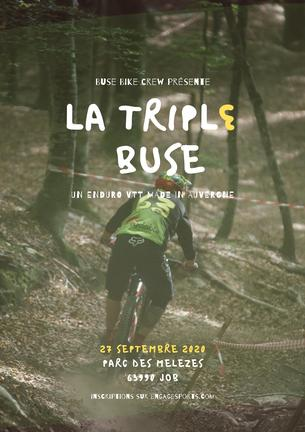 Affiche La Triple Buse - 27 September