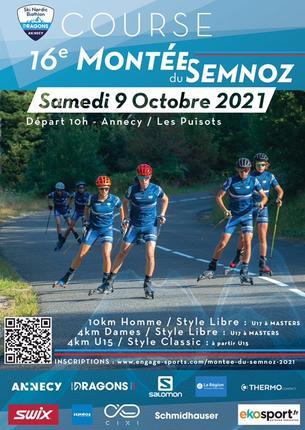 Affiche 16ème montée du Semnoz - 9 October