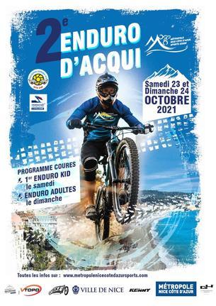 Affiche ENDURO D'AQUI - 24 October