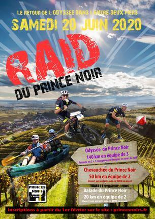 Affiche Raid du Prince Noir - 20 June 2020