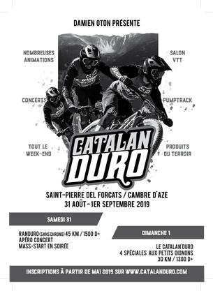 Affiche Catalan'Duro 2019 - 31 August/1 September 2019