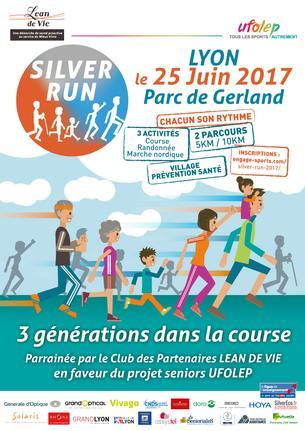 Affiche SILVER RUN - 25 June 2017