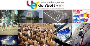 Affiche Université Européenne du Sport 2017 // European Sport Convention 2017 - 11/12 July 2017