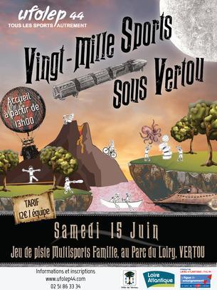 Affiche Vingt Mille Sports Sous Vertou - 15 June 2019